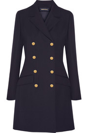 Bertie double-breasted wool coat