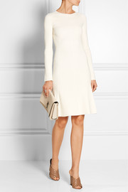Theory Ribbed stretch-knit dress