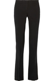 Theory Custom Max 2 stretch-wool flared pants