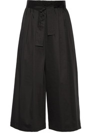 TOME Cotton-blend wide-leg pants