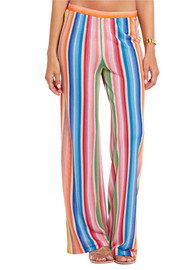 Missoni Striped crochet-knit pants
