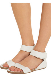 Pedro Garcia Joline textured-leather sandals