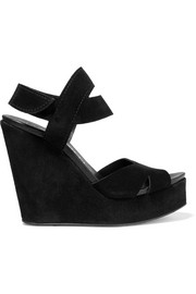 Teilor suede wedge sandals