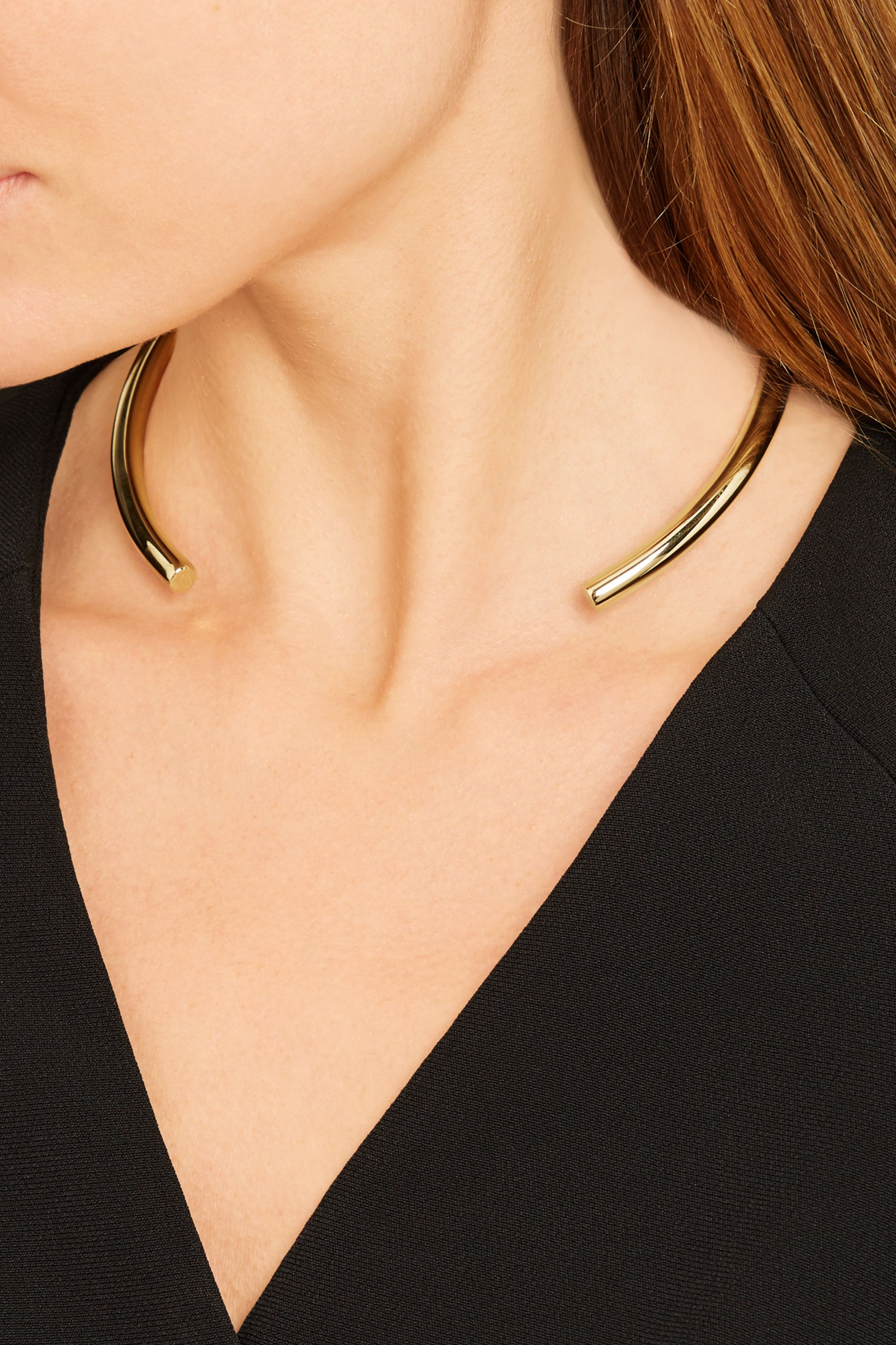 Jennifer Fisher Stop It Right Now gold-plated choker