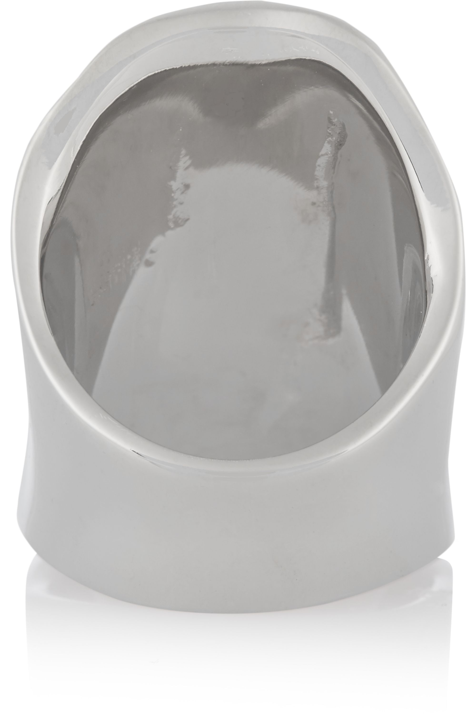 Jennifer Fisher Crinkle silver-plated ring
