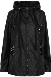 Wiwi hooded shell and PVC jacket