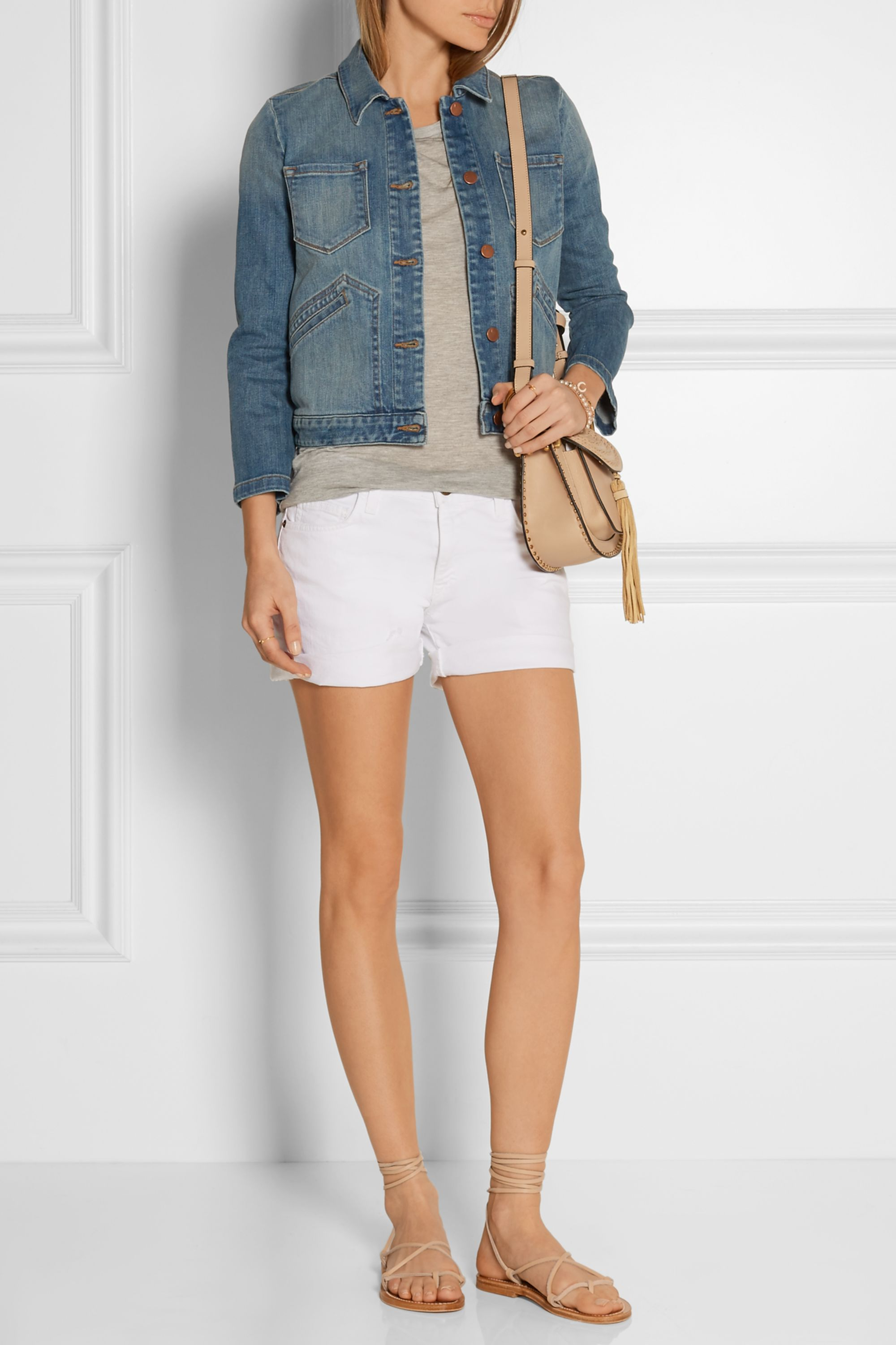 J Brand Lacy denim jacket