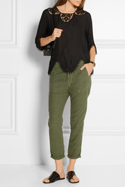 The Great The Slouch Armies twill tapered pants