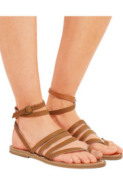 K Jacques St Tropez Hesperide leather sandals