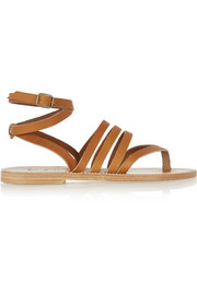 Hesperide leather sandals