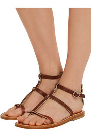 K Jacques St Tropez Gina leather sandals