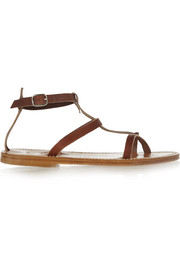 Gina leather sandals