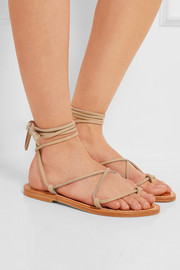 K Jacques St Tropez Bikini leather sandals