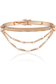 Eddie Borgo Rose gold-plated bracelet