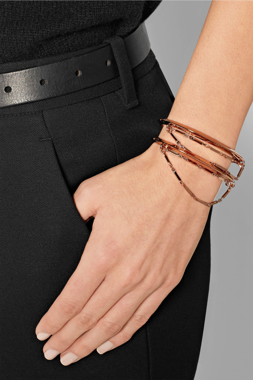 Eddie Borgo Rose gold-plated bracelet