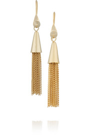 Eddie Borgo Gold-plated earrings