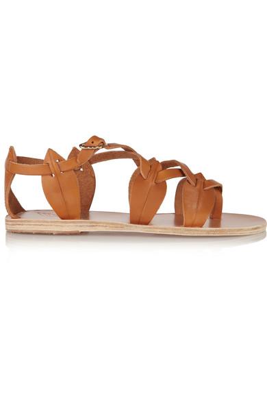 Ancient Greek Sandals - Filareskia Leather Sandals - Tan