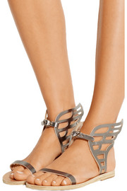 Ikaria Lace leather wing sandals