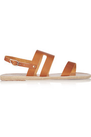 Athanasia leather sandals