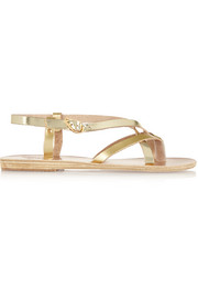 Semele metallic leather sandals
