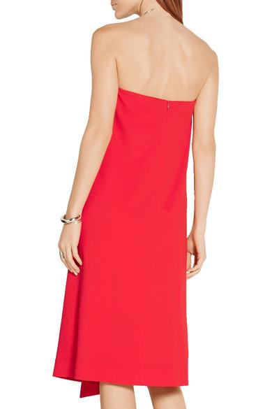 Tibi - Strapless stretch-crepe dress - NET-A-PORTER.COM