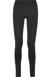 Stretch-jersey leggings