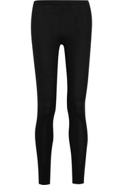 Donna Karan New York Cashmere-blend leggings