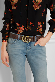 Gucci Ostrich belt