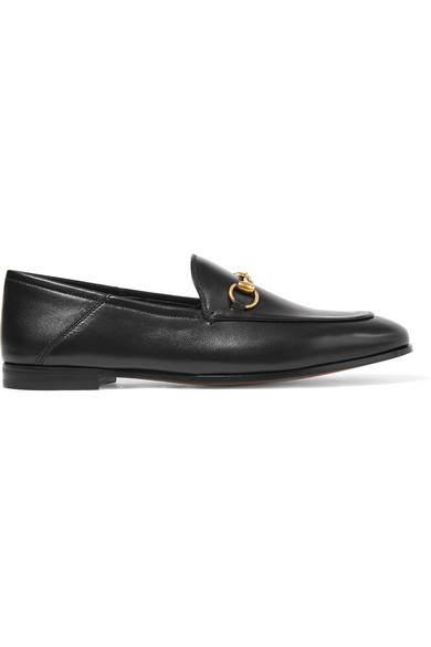 Gucci - Horsebit-detailed Leather Loafers - Black
