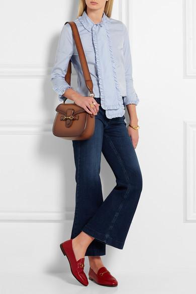 b6413b652033 Lady Web small leather shoulder bag