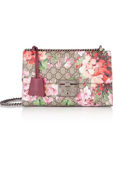 Gucci padlock large coated canvas and leather shoulder bag net a gucci mightylinksfo