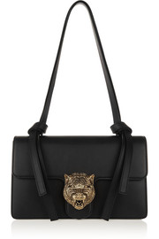 Gucci Linea G1 embellished leather shoulder bag