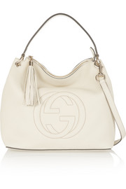 Gucci Soho Hobo large textured-leather shoulder bag