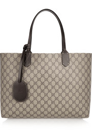 Turnaround medium reversible leather tote