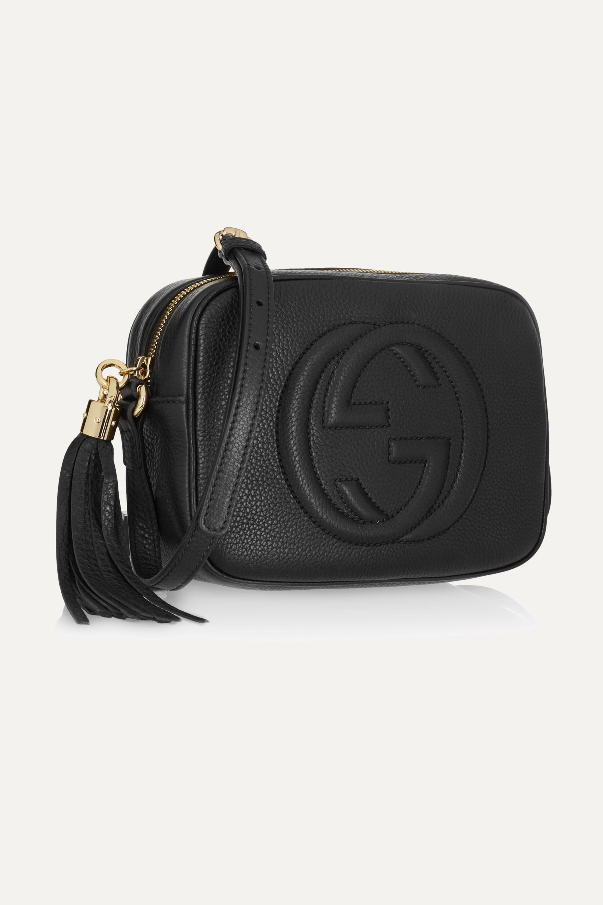 Gucci Soho Disco textured-leather shoulder bag