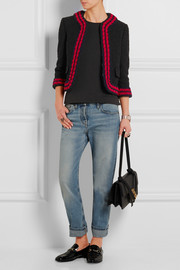 Gucci Cropped bouclé-tweed jacket