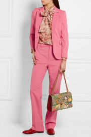 Gucci Stretch wool and silk-blend blazer