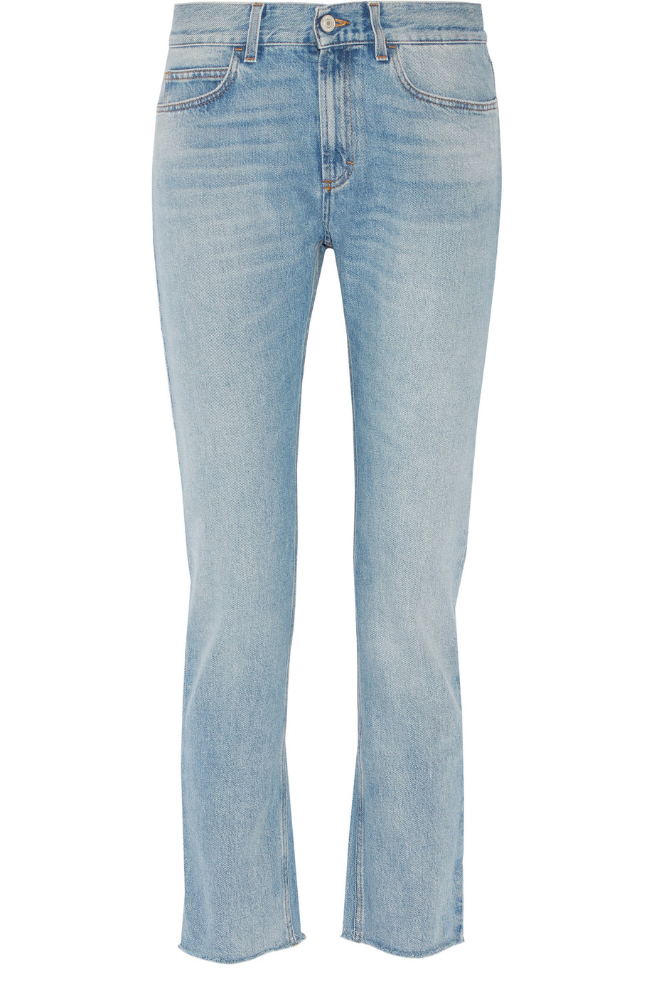 Gucci Low-Rise Bootcut Jeans, Size: 30