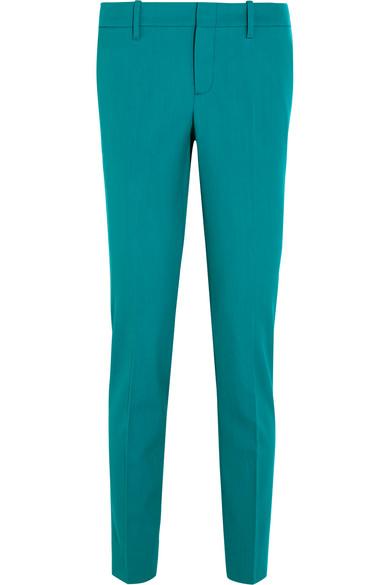 Gucci - Wool-blend Straight-leg Pants - Teal