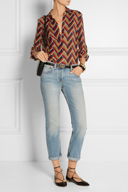 Gucci Printed silk and wool-blend shirt