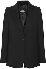 Wool-canvas blazer