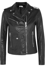 Chiodo Chara embellished leather biker jacket