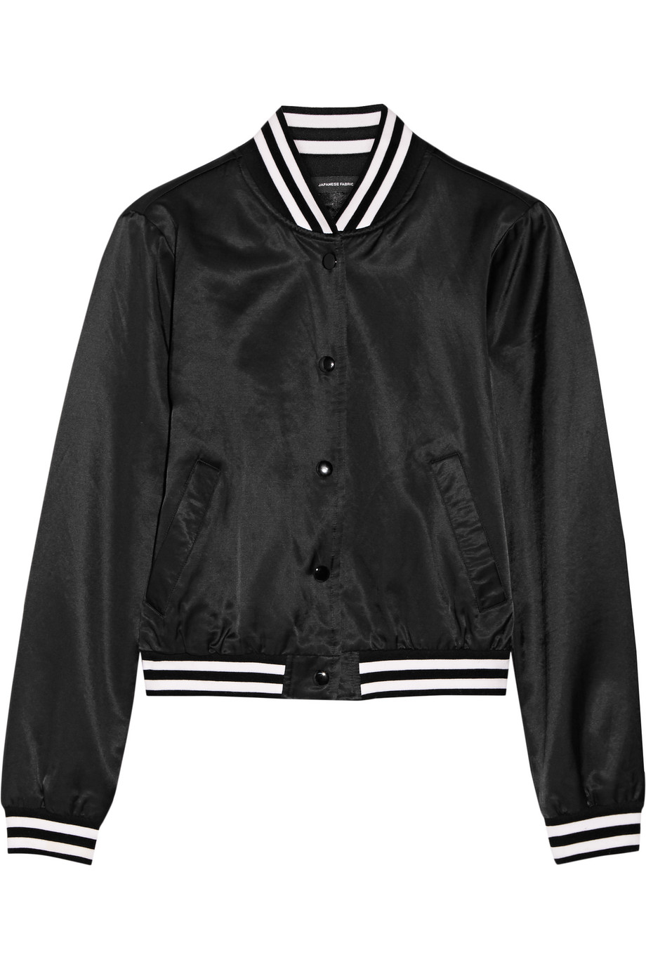 R13 Roadie Embroidered Satin Bomber Jacket