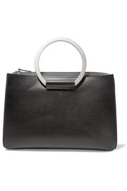 The Row Classic 5 leather tote
