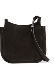 Hunting 11 suede shoulder bag
