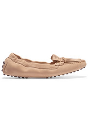 Tod's Gommino fringed leather loafers