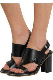 Tod's Buckled leather sandals