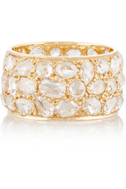 Collection 18-karat gold diamond eternity ring
