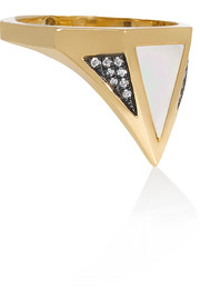 Vedra 18-karat gold multi-stone ring