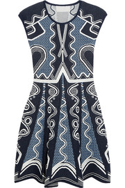 Lito jacquard-knit dress